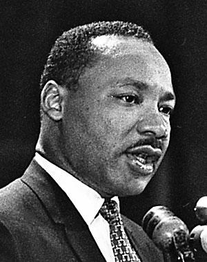 why is martin luther king jr a hero